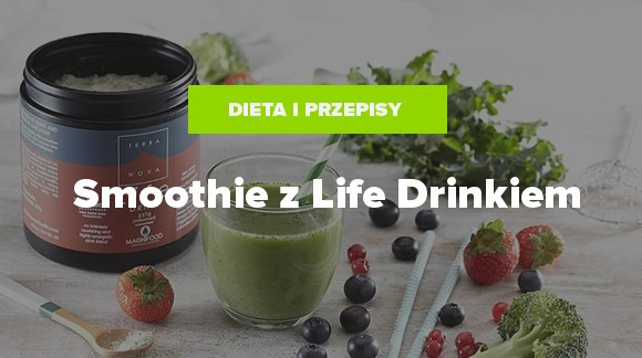 Smoothie z Life Drinkiem